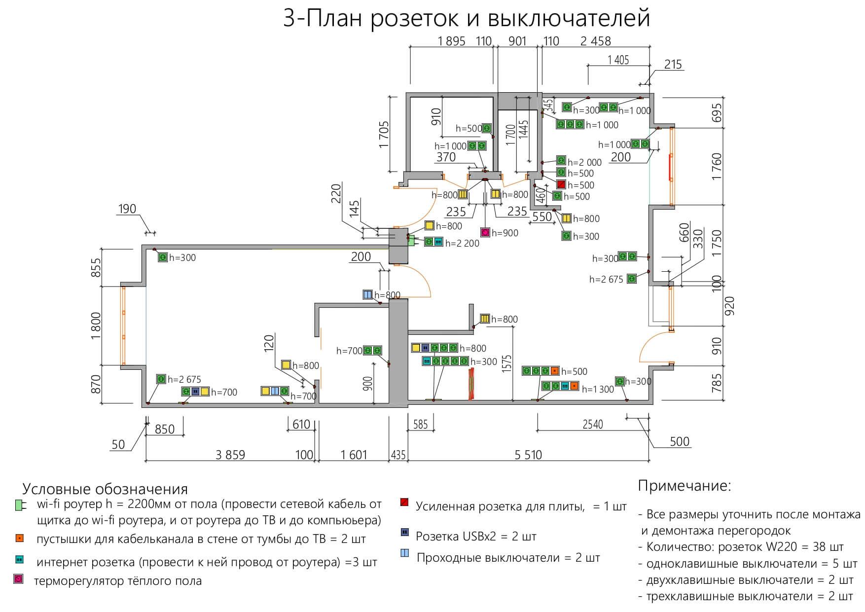 3-А4 План розеток_page-0001
